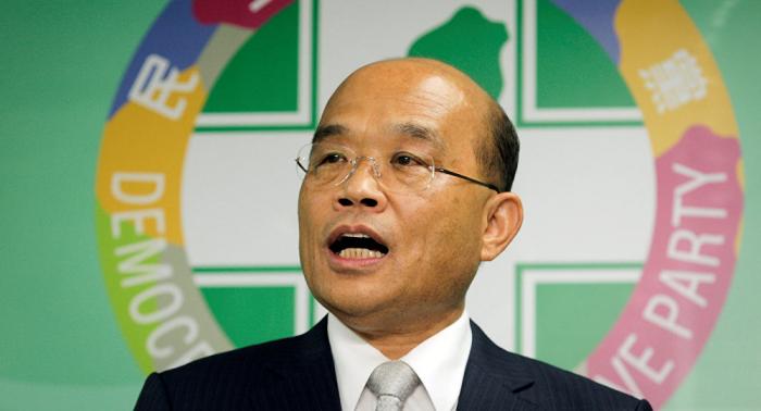 Su Tseng-chang vuelve a encabezar el Gobierno de Taiwán