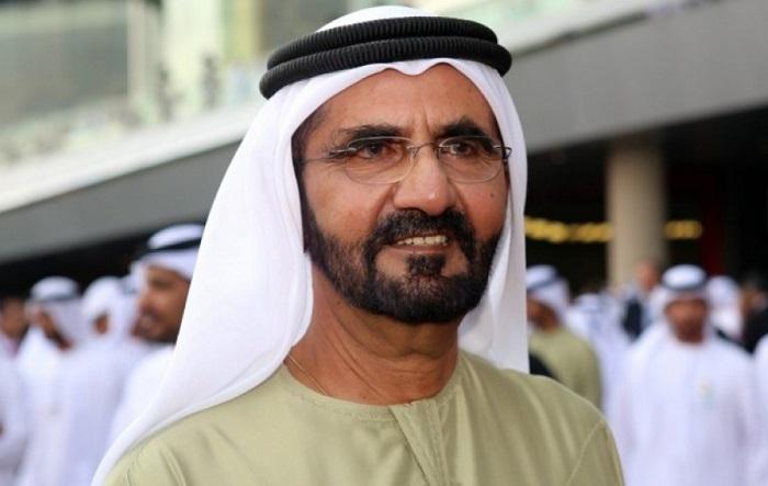 """أمير دبي يزور """"البيت الأذربيجاني""""-  فيديو"""