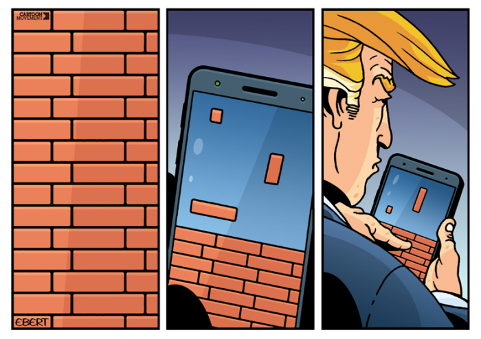 Tetris, the Donald Edition -  CARTOON