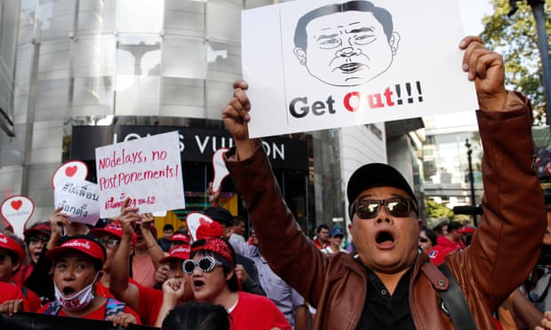 Thailand: biggest democracy protests in years held as military junta delays elections