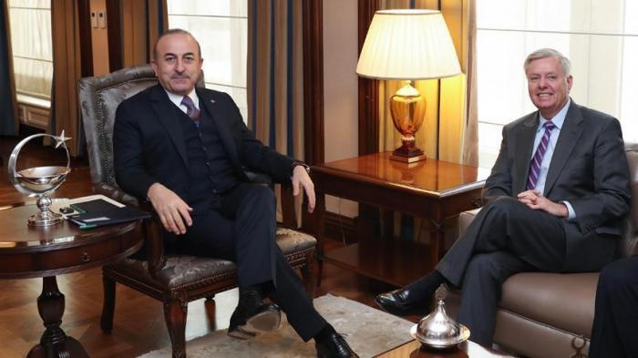 Turquie: Le MAE Cavusoglu accueille le sénateur américain, Graham