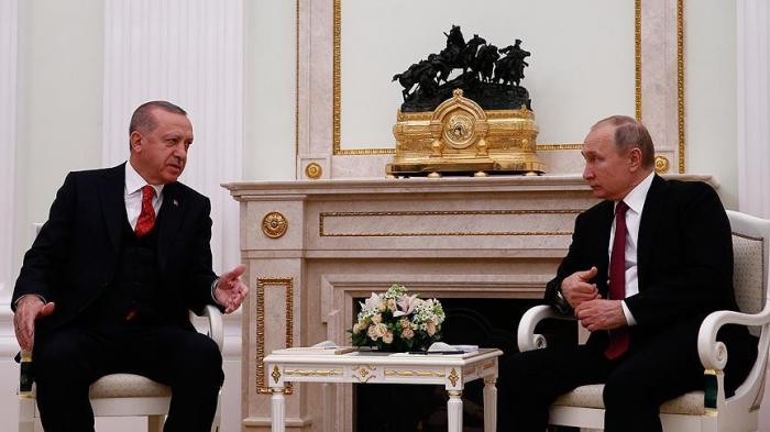 Ərdoğan-Putin görüşü başa çatdı - Yenilənib