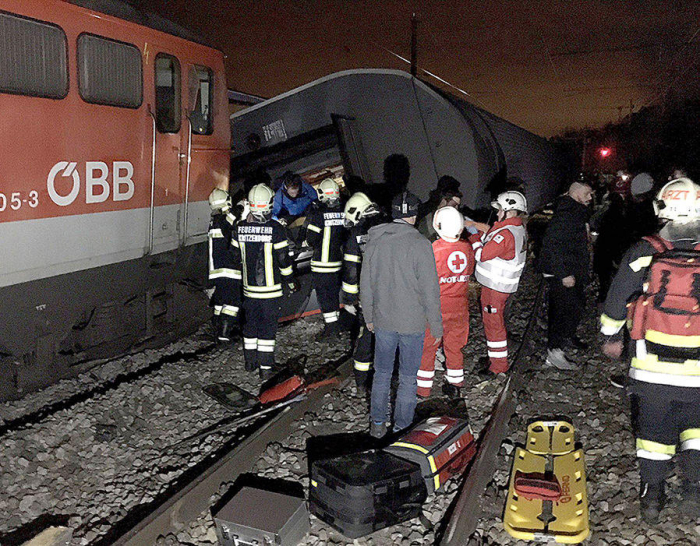 Six killed in train accident on bridge linking Denmark