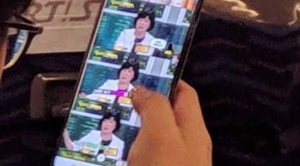 """تسريب صورة حية لهاتف """"غالاكسي إس10 بلس"""" المرتقب"""