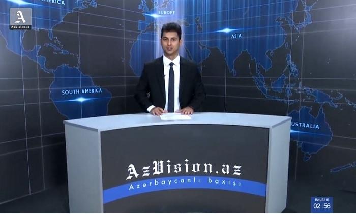 AzVision Nachrichten: Alman dilində günün əsas xəbərləri (9 yanvar) - VİDEO