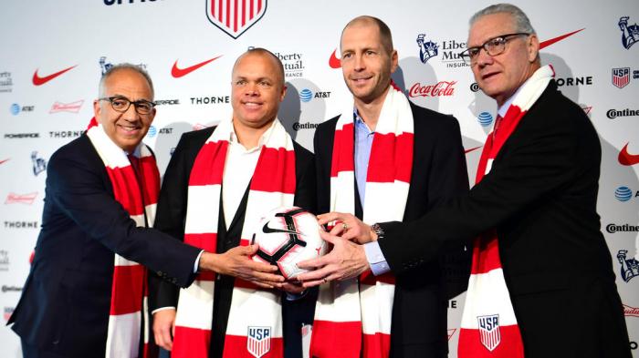 Football :  Les Etats-Unis veulent un tournoi des Amériques en 2020