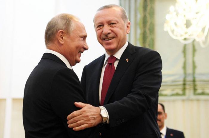 Ərdoğan Putinin ən çox güvəndiyi liderlərdəndir