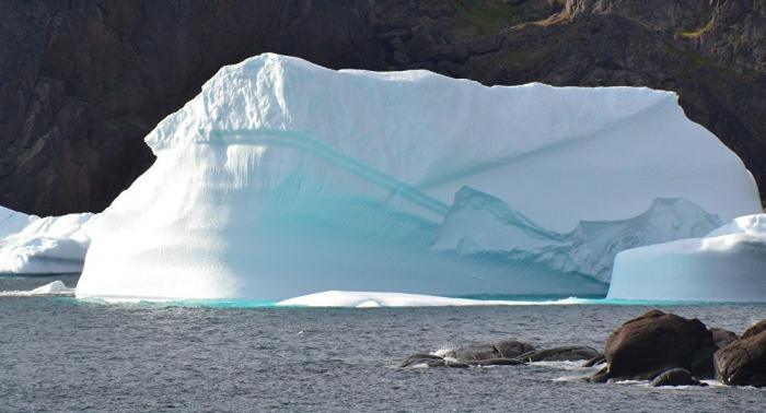 La NASA découvre un deuxième cratère au-dessous de la banquise au Groenland