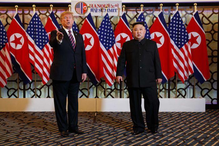 II ABŞ-Şimali Koreya sammiti vaxtından tez başa çatdı