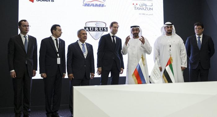 روسيا والإمارات تعززان تعاونهما في مجالات مدنية