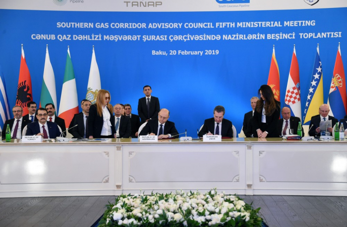 Joint Declaration signed at 5th ministerial meeting of SGC Advisory Council signed