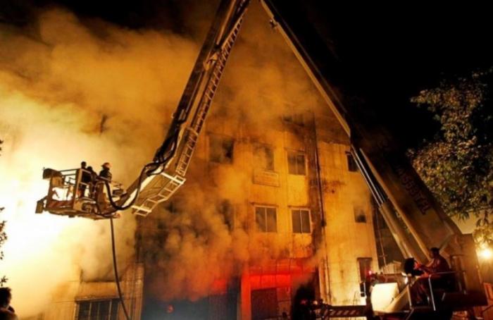 41 قتيلاً في حريق بمبنى سكني في بنغلاديش