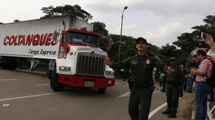 Venezuela lässt US-Hilfsgüter nicht ins Land
