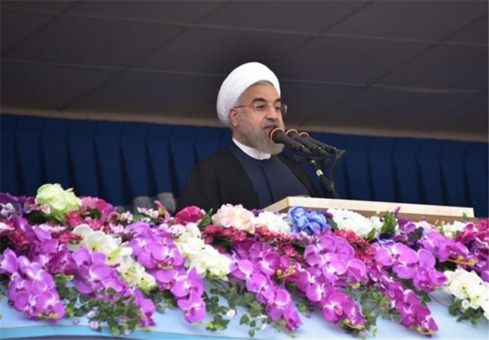 """Həsən Ruhani: """"İran hərbi gücünü daha da artıracaq"""""""