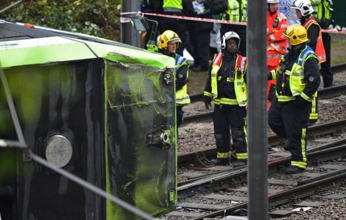 Fransada tramvay qəzası, 12 nəfər yaralanıb
