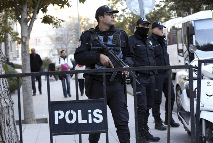 Türkiyədə antiterror əməliyyatı - 11 nəfər saxlanılıb