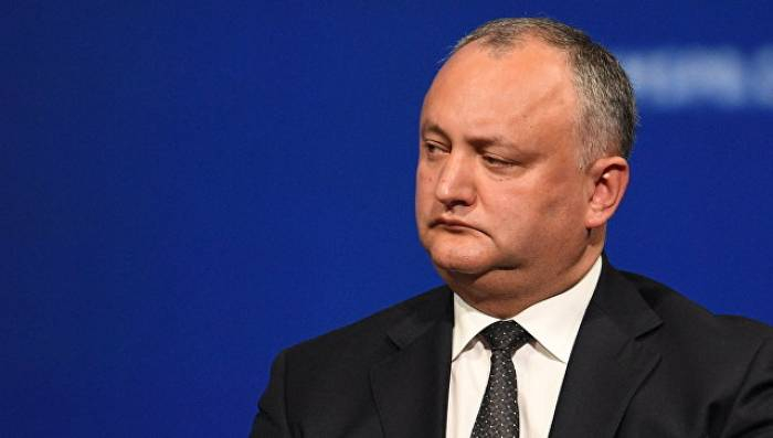 Moldova prezidenti qəzaya düşdü