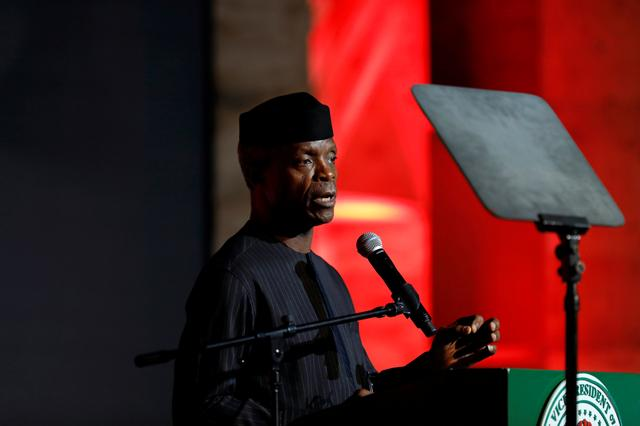 Nigeria vice president survives chopper crash weeks beforeelection