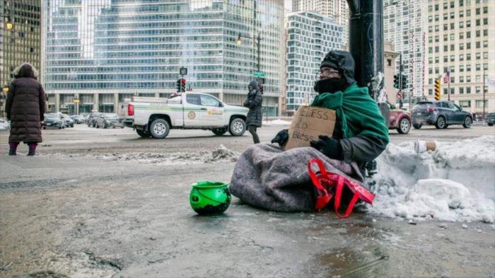 Temor a muertes por hipotermia de sintechos en ola de frío de EEUU