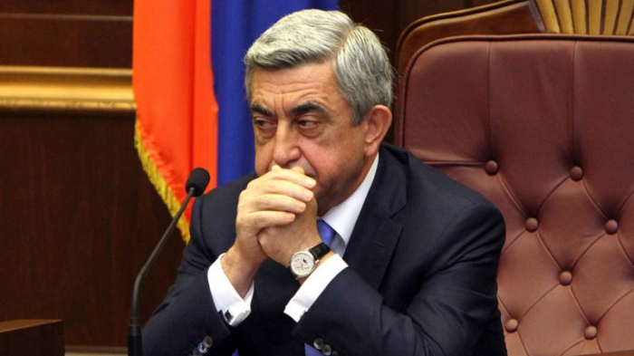 Former    Armenian president Sarkisian 'Questioned in 2008 probe'