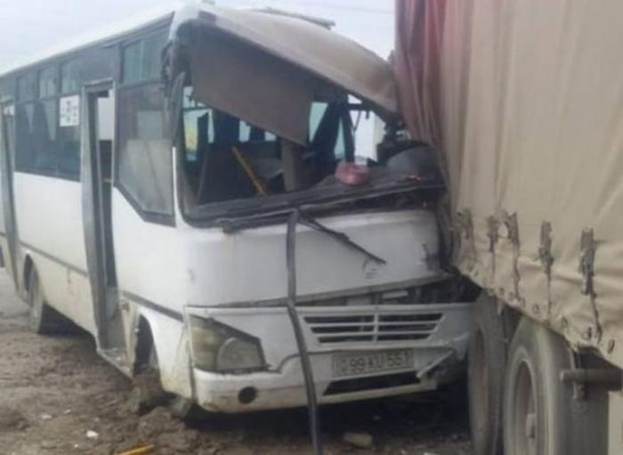Avtobus qəzası ilə bağlı rəsmi məlumat