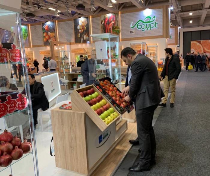 Se exhiben productos azerbaiyanos en la feria Fruit Logistica en Berlín