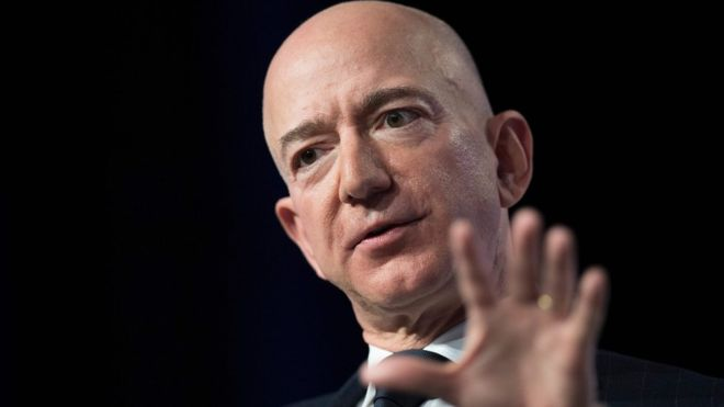 Jeff Bezos: Amazon boss accuses National Enquirer of blackmail
