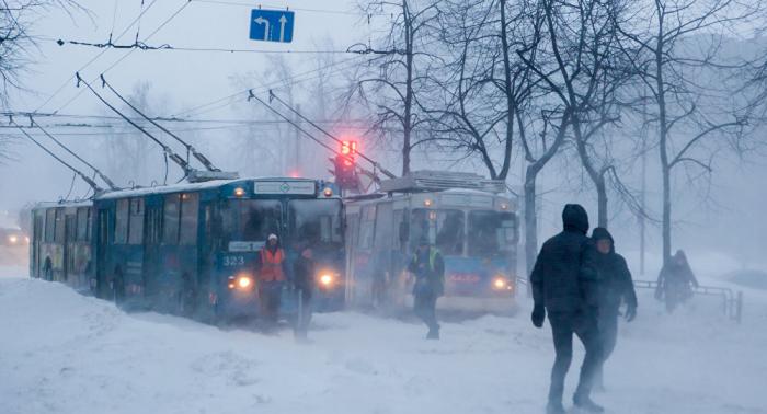 Russlands öffentlicher Verkehr überrascht schwedische Journalistin