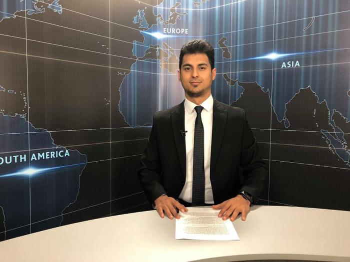 AzVision TV:  Die wichtigsten Videonachrichten des Tages auf Deutsch   (08. Februar) - VIDEO