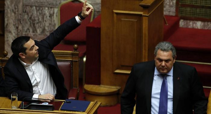 Griechisches Parlament macht Weg für Nato-Beitritt Mazedoniens frei