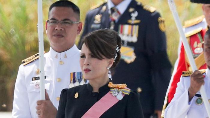 Thailändische Prinzessin gibt auf