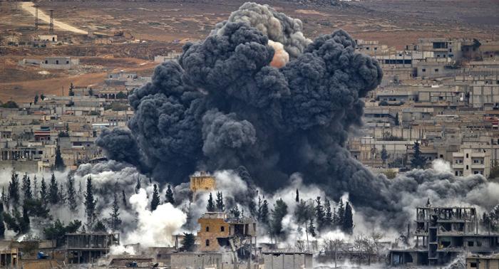 Protestas en Siria contra la presencia de las tropas de la coalición estadounidense