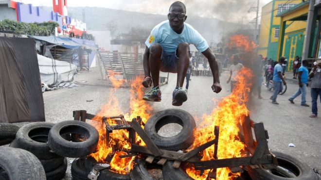 Haiti protesters call on President Jovenel Moise to quit