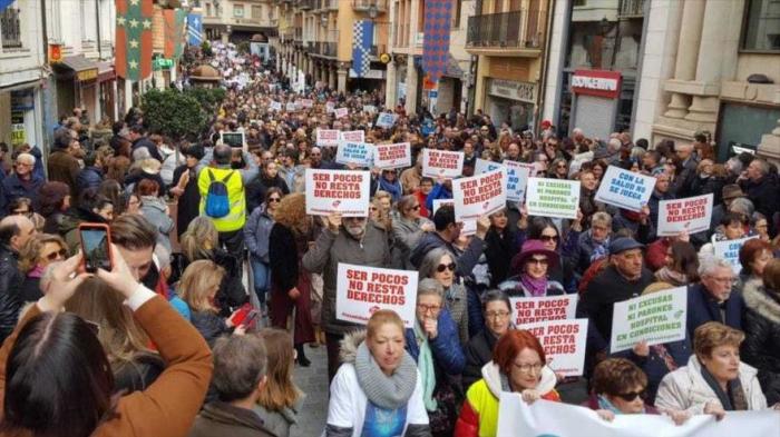Españoles denuncian la mala calidad de la sanidad pública