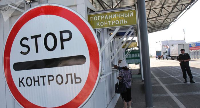 Ukrainische Grenzer wollen russische Wahlbeobachter nicht ins Land lassen