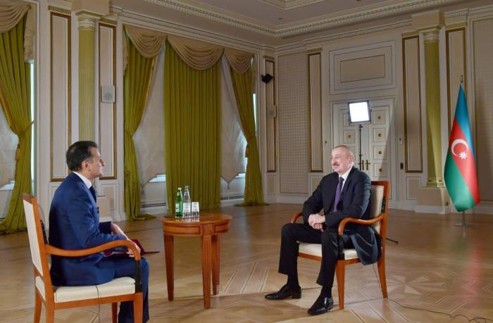 İlham Əliyevin Real TV-yə müsahibəsi - TAM MƏTN (VİDEO)