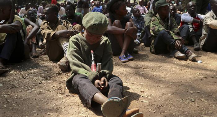 UN: Bis zu 250.000 Mädchen und Jungen als Kindersoldaten missbraucht