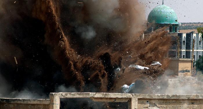 Reportan unas 70 víctimas civiles tras un ataque aéreo de la coalición en Siria