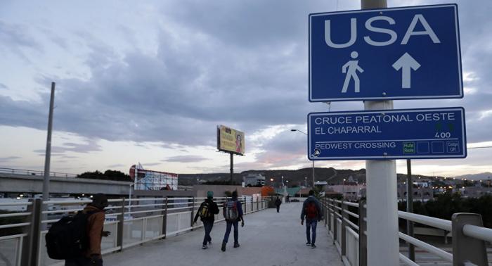 Más de 300 migrantes son detenidos en suroeste de EEUU tras cruzar desde México