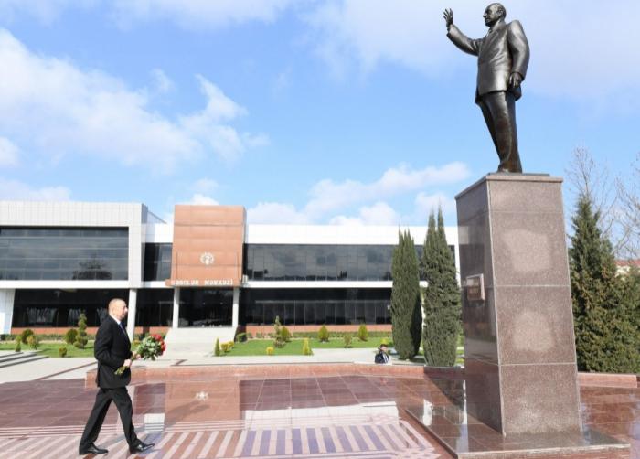 Ilham Aliyev est en visite dans la région de Beylagan - Mise à Jour