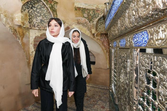 Gandja:  Mehriban Aliyevavisite le complexe « Imamzadé » -  PHOTOS