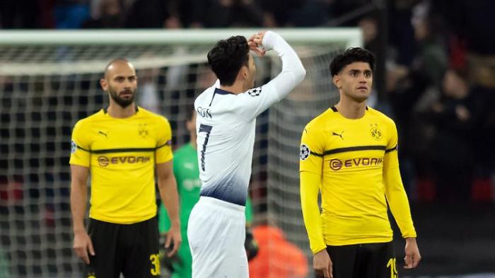Borussia Dortmund geht in London unter