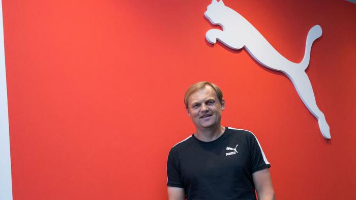 Puma-Chef sieht bei Prognose für 2018 Luft nach oben