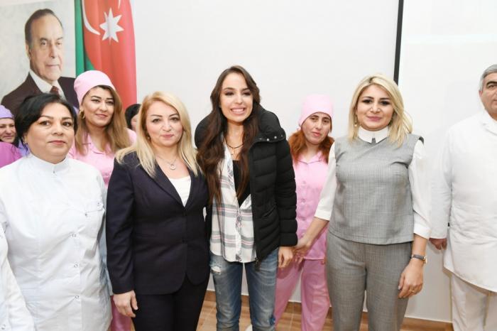 Leyla Əliyeva Buzovnada açılışa qatıldı - FOTOLAR