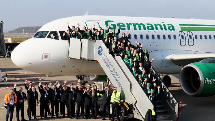Rund 30 Interessenten für insolvente Germania
