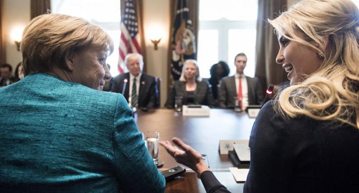 """Ivanka Trump:   """"Ich habe großen Respekt vor Bundeskanzlerin Merkel"""""""