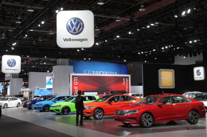 Volkswagen mit schrumpfenden Absatz - Aber Marktanteil steigt