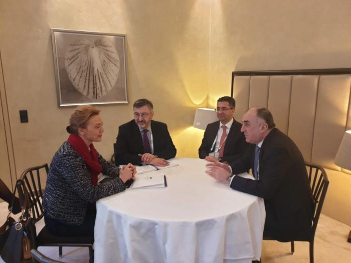 Le chef de la diplomatieazerbaïdjanaise a rencontré son homologue croate