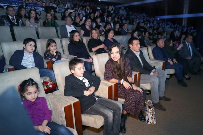 """Leyla Əliyeva """"Zima"""" festivalını izlədi - FOTOLAR"""