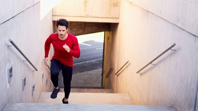 Short bursts of intense exercise